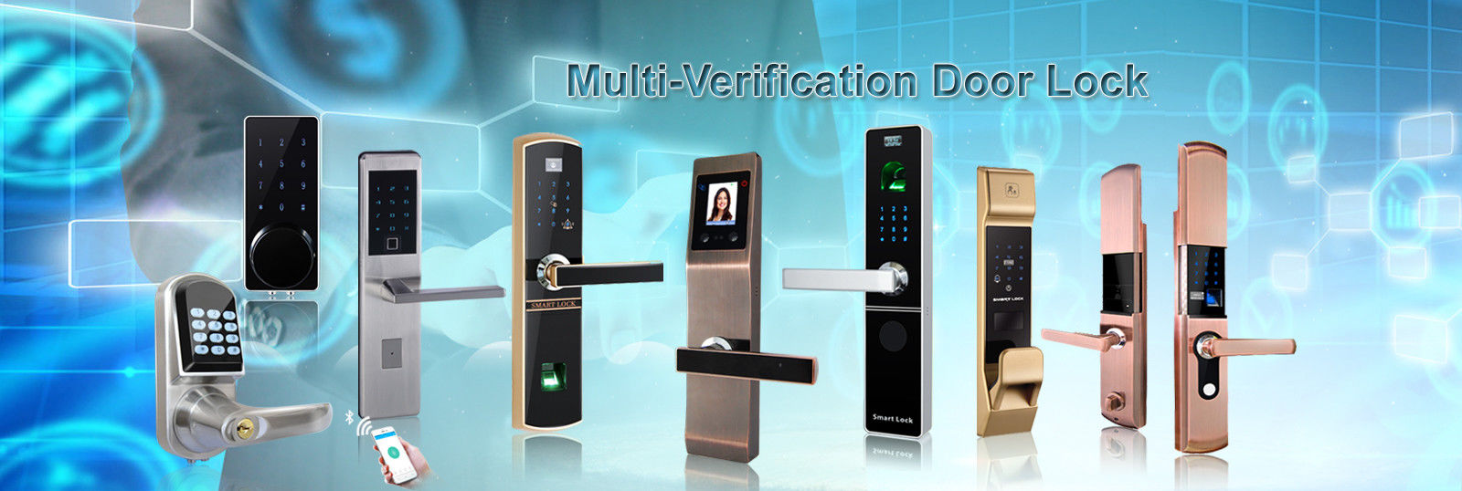 China best Bluetooth Smart Door Lock on sales