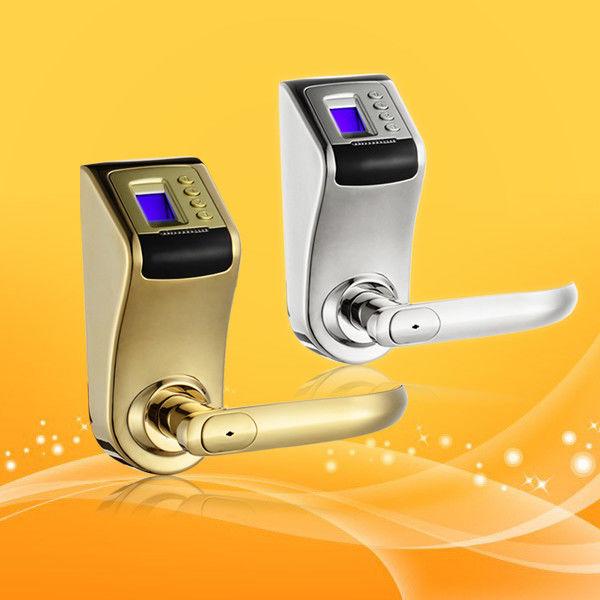 Home Fingerprint Scanner Door Lock Biometric Keyless Locks For