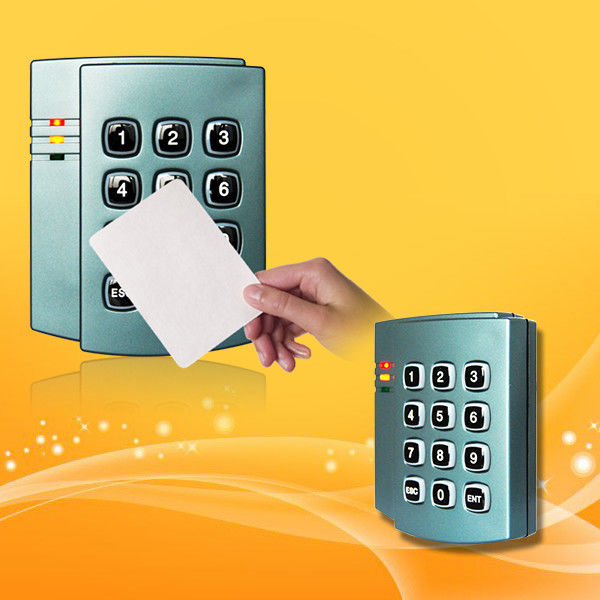 13 56Mhz Mifare Card / Proximity Card Reader With Keypad 3cm