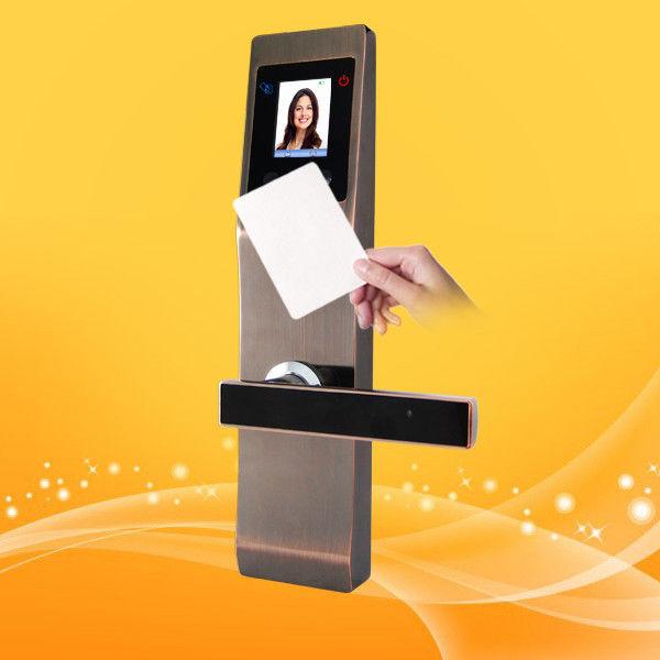 Free Software Intelligent RFID Card Door Lock Contactless