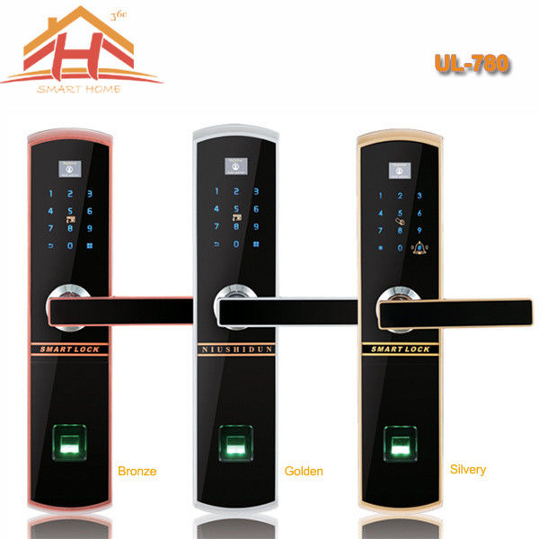 Touch Keypad Fingerprint Door Lock IC Card Access Control And Remote Controller