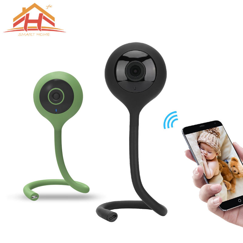 Baby Monitor Two Way Audio 720P HD Mini P2P IP Camera for Home