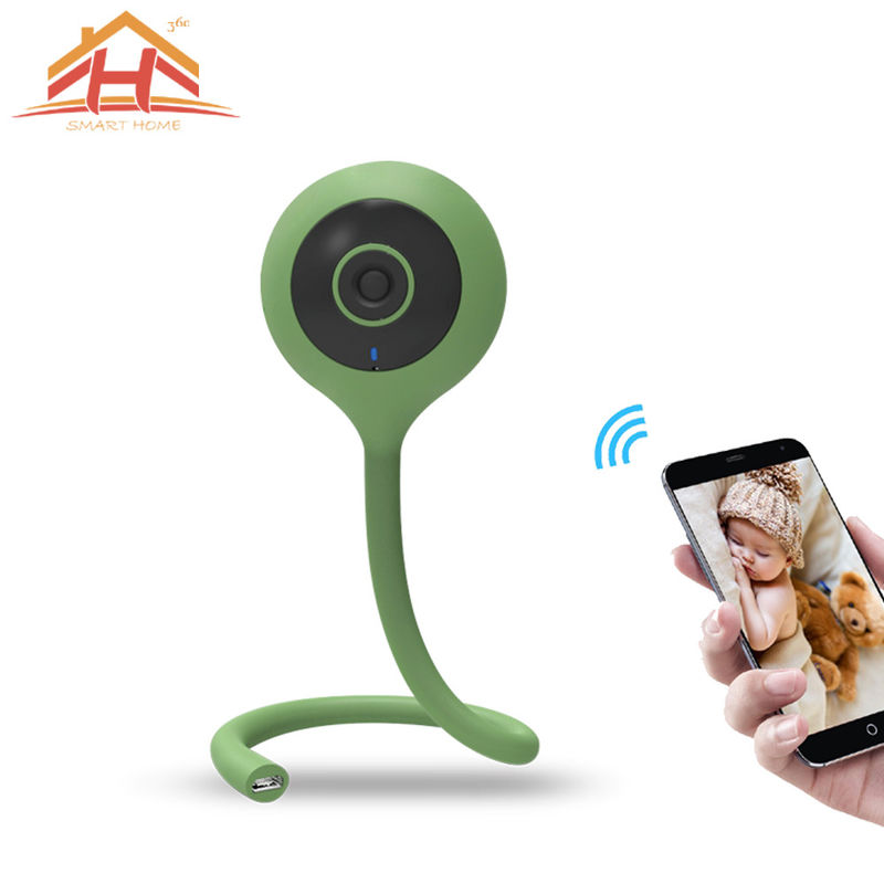 H264 CE FCC Smart Home IP Camera With WiFi To Mornit Children And Old People
