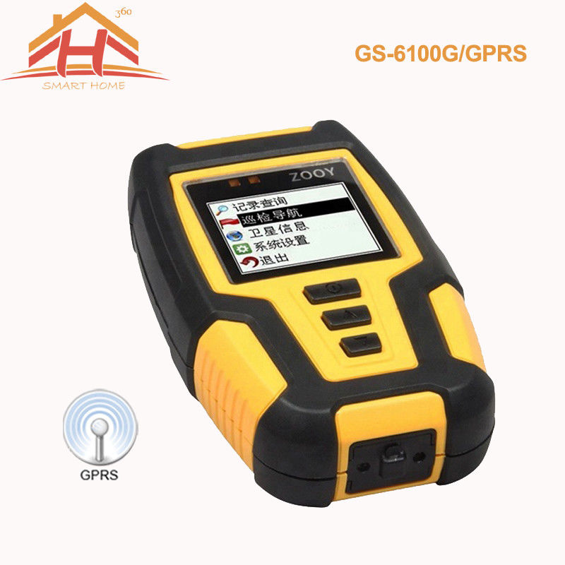 GPRS Guard Tour Patrol System , Real Time Transfer Data Security Patrol System
