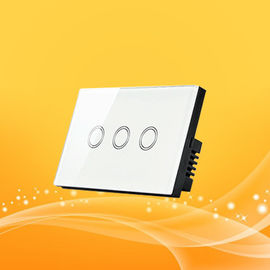 Wireless Remote Smart Home Light Switch Short Circuit And Over Current Protection Touch Panel