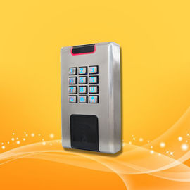Metal Material Proximity Card Reader With Keypad 10% To 90% Operating Humidity