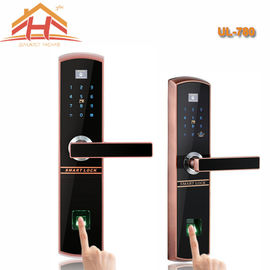 IC Card And Fingerprint Recognition Biometric Door Lock With Remote Controller