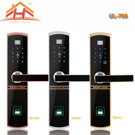 China Touch Keypad Fingerprint Door Lock IC Card Access Control And Remote Controller factory