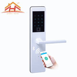 Fingerprint Keypad Bluetooth Smart Door Lock With Low - Voltage Alarm