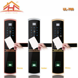 China Keyless Remote Control RFID Card Fingerprint Smart Lock With Waterproof Screen factory