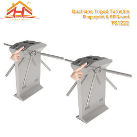 China Speed Gate Office Pedestrian Access Control Turnstile , Stainless Steel Turnstiles factory