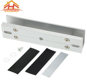 China U Bracket Electromagnetic Lock For Glass Door 150KG / 270KG / 300KG Force Holding factory